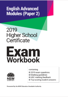 NESA 2019 HSC English Advanced Paper 2